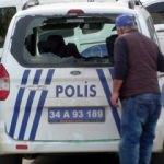 Maltepe'de polis araçlarına saldırdılar