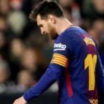 Messi'ye kötü haber!