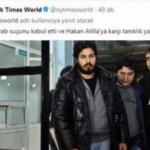 NYT'dan skandal Zarrab tweeti açıklaması