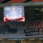 Başakşehir maçında dikkat çeken Kudüs pankartı!