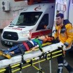 Düzce'de balkondan düşen çocuk yaralandı