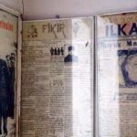 Okulda çıkartılan el yazması ilk gazete bulundu