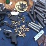 Pendik'te tabanca imalathanesine baskın