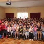 Öğrencilere gölge oyunuyla ağız ve diş sağlığı eğitimi