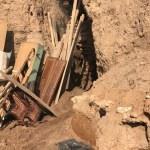 Kızıltepe'de bir evde tünel bulundu