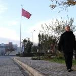 """""""Hasan komutan"""" 49 yıl sonra yeniden fakültede"""