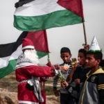 İsrail askerleri 'Noel Baba'yı vurdu!