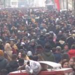 Taksim'de bugün... İzdiham yaşandı!
