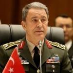 Afrin operasyonu öncesi Akar'dan kritik temas
