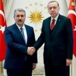 Erdoğan'la görüştü: Destici'den ittifak açıklaması