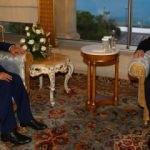 Cumhurbaşkanı Erdoğan Gannuşi'yi kabul etti