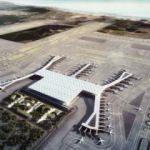 Yeni havalimanına bir ilk daha