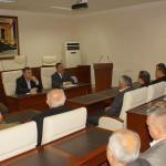Başkan Acehan, esnaf odaları temsilcileriyle buluştu