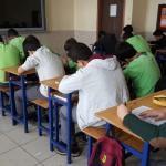 Akşehir'de gözetmen öğretmensiz sınav