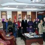 AK Parti'li kadınlardan Yılmazer'e ziyaret
