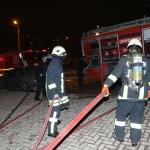 Çorum'da özel hastanede yangın