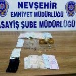 Nevşehir'de hırsızlara suçüstü