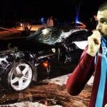 Burak'ın kaza görüntüleri ortaya çıktı!