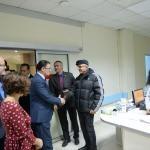 Tokat Valisi Balcı'dan ziyaretler