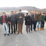 Kütahya'da asit tankeri protestosu