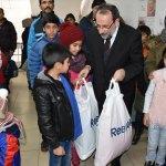 Kars'ta göçmen ailelere kışlık yardımı