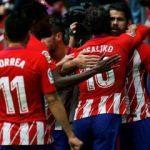 Madrid'de Costa'nın maçı! Hem attı hem atıldı