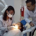 Öğrenciler diş taramasından geçirildi