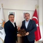 Başkan Tutal'dan AK Parti İlçe Teşkilatı'na ziyaret