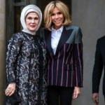 Fransız First Lady'e davet!
