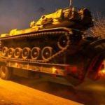 Hatay'da tanklar sınıra ulaştı