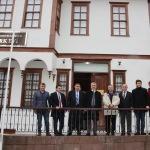 OMÜ Rektörü Bilgiç Havza'da ziyaretlerde bulundu