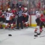 NHL'de ortalık savaş alanına döndü!