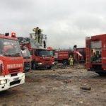 Sancaktepe'de fabrika yanıyor!