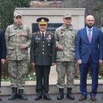 Siyasi partilerin il başkanlarından Mehmetçiğe destek ziyareti