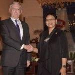 ABD Savunma Bakanı Mattis Endonezya'da