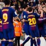 Barcelona evinde kazanıp yarı finale yükseldi