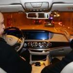 Cumhurbaşkanı Erdoğan, şoför koltuğuna geçti