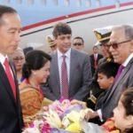 Endonezya Devlet Başkanı Widodo Bangladeş'te