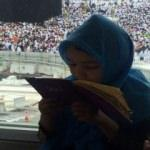 Kabe'de küçük kızın Erdoğan duası