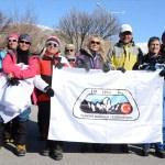 Süphan Dağı'na 40 dağcı tırmanmaya başladı