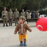 Eğitimlerini tamamlayan askerler yemin etti