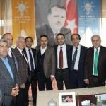 AK Parti Hakkari İl Başkanı Gür, Şemdinli'ye gitti