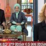 Cumhurbaşkanı Erdoğan ve eşi, Müge Anlı'nın programına konuk oldu!