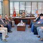 Sarıoğlu ve Aladağ, KUTSO'yu ziyaret etti