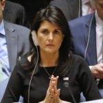 Nikki Haley, İsrail'in avukatlığına soyundu