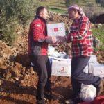 Suriye Sınırı için Kızılay yardım başlattı