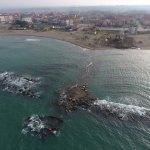 Karasu'da parçalanan gemi denizden tümüyle çıkarıldı