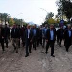AK Parti Kemer yönetimi, asfalt çalışmalarını denetledi