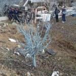 Denizli'de kamyonet devrildi: 1 ölü, 1 yaralı
