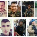 Afrin şehitlerinin kimlikleri belli oldu
